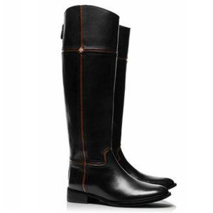 Tory Burch 30MM Leather Juliet Riding Boots